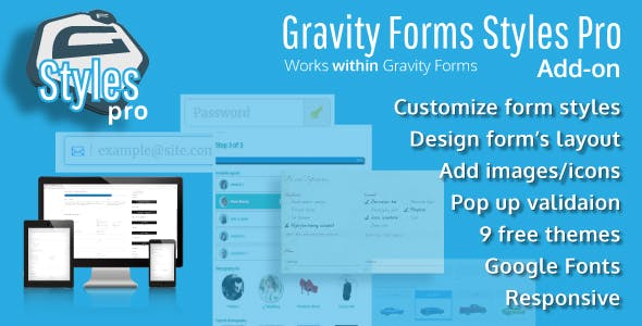 Gravity Forms Styles Pro Add-on        Nulled
