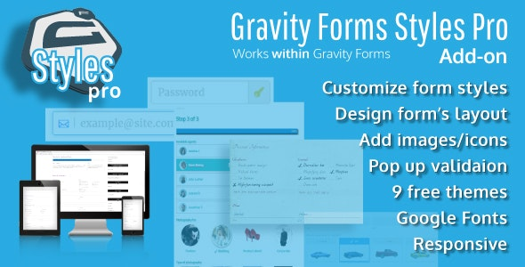 Gravity Forms Styles Pro Add-on by warplord | CodeCanyon