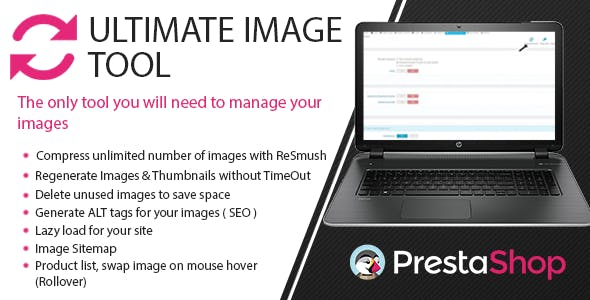 Prestashop Image Toolbox: Compress, Regenerate & More