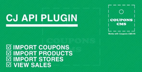CJ Plugin for Coupons CMS