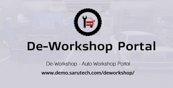 De-Workshop - Auto Workshop Portal