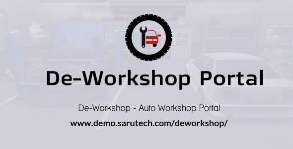 De-Workshop - Auto Workshop Portal