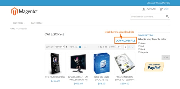 Catalog File Attachment - CodeCanyon Item for Sale
