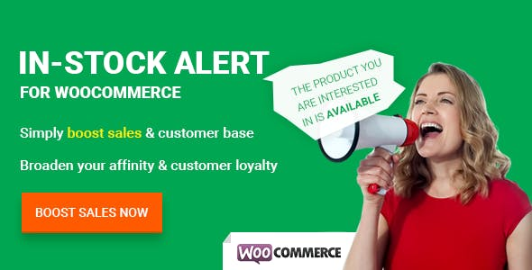 In-Stock Alert for WooCommerce