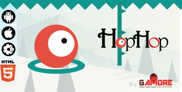 HopHop - HTML5 Game - Construct2 CAPX
