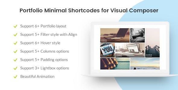 Portfolio Minimal for Visual Composer