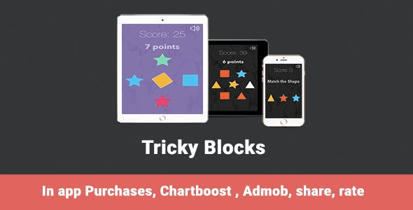 Blocks - iOS Universal Game (Swift)