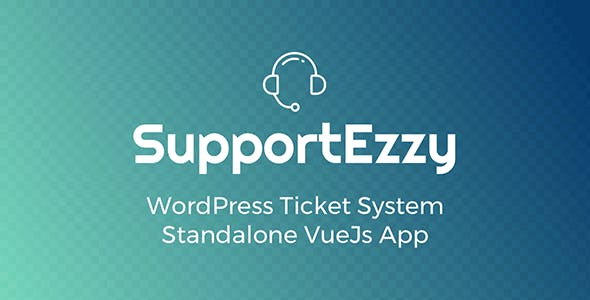 SupportEzzy - WordPress Ticket System        Nulled