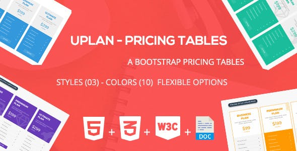 Uplan - Pricing Tables Framework