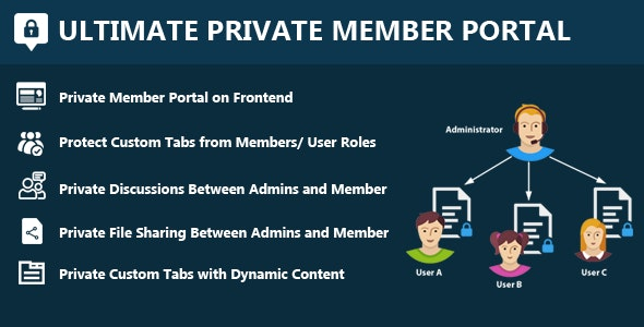 Ultimate Private Member Portal - CodeCanyon Item for Sale