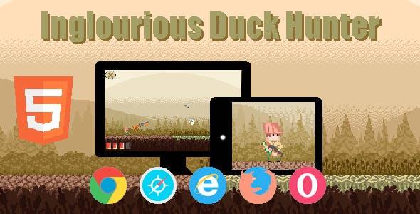 Inglourious Duck Hunter (HTML5 game)