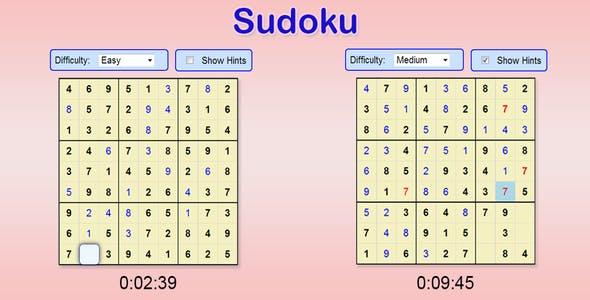 Sudoku Plugins, Code & Scripts from CodeCanyon