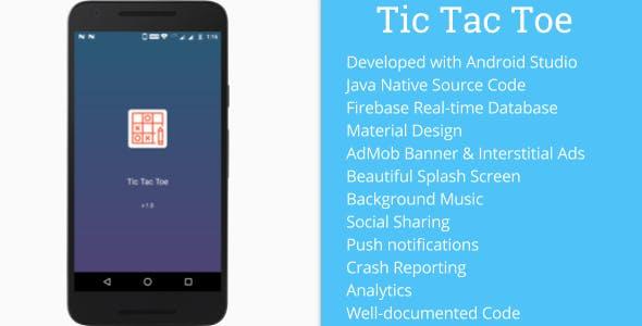 Tic Tac Toe Online (Firebase + AdMob + Material Design)
