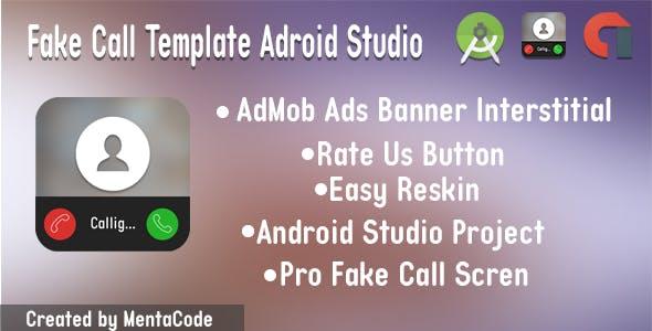 Fake Call Template Adroid Studio
