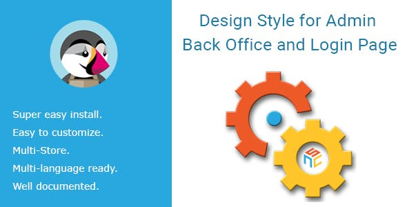 Design Style for Admin Back Office and Login Page