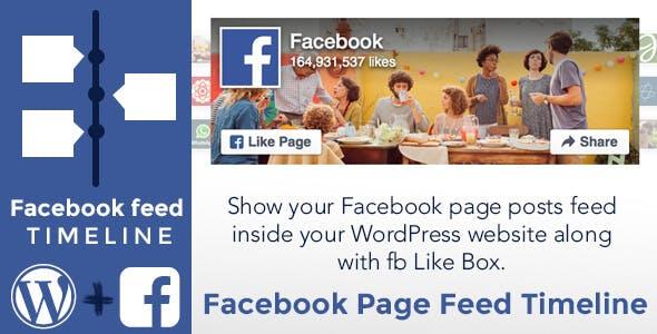 Facebook Page Feed Timeline - WordPress Plugin