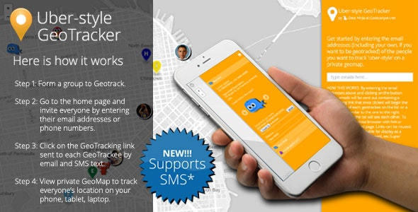 PHP Uber-style GeoTracking NEW v1.1 - CodeCanyon Item for Sale