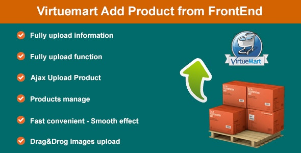 Virtuemart Add Product from FrontEnd - CodeCanyon Item for Sale