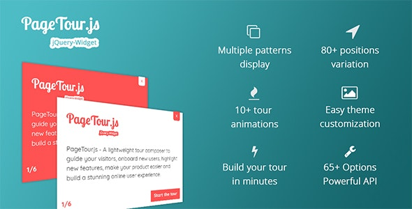PageTour.js - A Lightweight Tour Composer To Guide Your Visitors And Onboard New Users - CodeCanyon Item for Sale