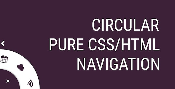 Circular Navigation - CodeCanyon Item for Sale