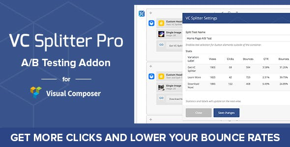 VC Splitter Pro: A/B Split Testing for Visual Composer