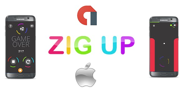 Zug Up IOS Game for iPhone - AdMob Ads + Buildbox