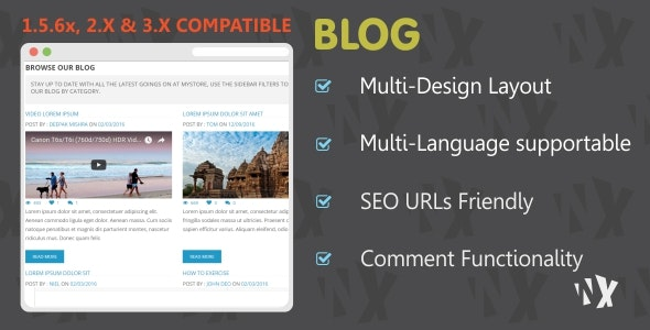 W-Blog - Clean and Responsive Design - CodeCanyon Item for Sale