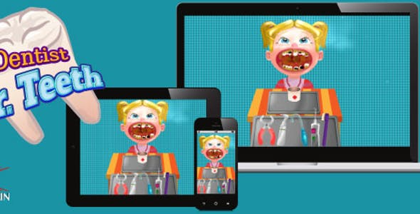 Dentist Doctor Teeth - HTML5 Game