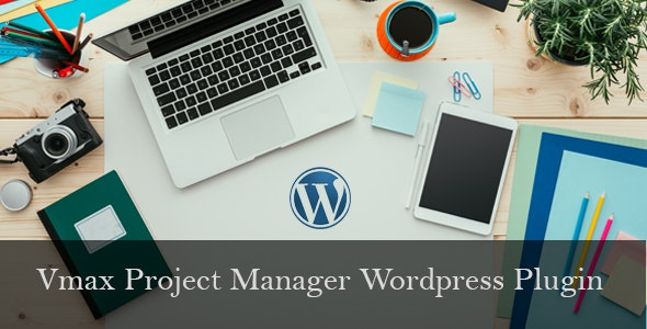 Vmax Project Manager Wordpress Plugin - CodeCanyon Item for Sale