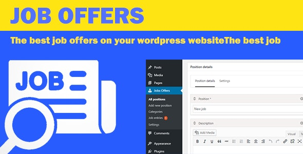 Job Offers - CodeCanyon Item for Sale