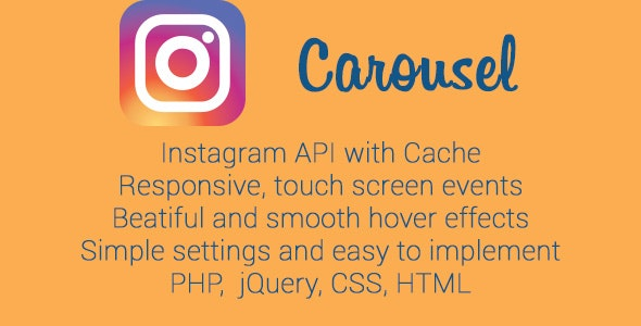 Instagram Photo Carousel - CodeCanyon Item for Sale