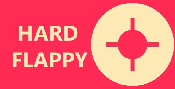 Hard Flappy - Html5 Mobile Game - android & ios