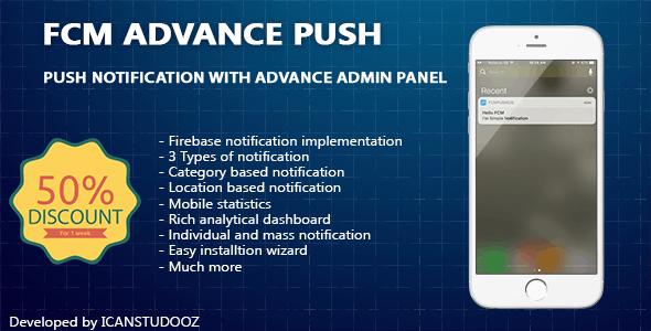 Firebase Push Notification iOS / FCM + Advance Admin Panel - CodeCanyon Item for Sale