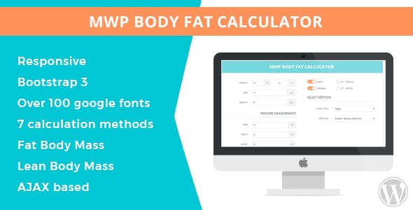MWP Wordpress Body Fat Calculator