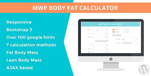 MWP Wordpress Body Fat Calculator - CodeCanyon Item for Sale
