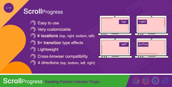 ScrollProgress - Reading Position Indicator - CodeCanyon Item for Sale