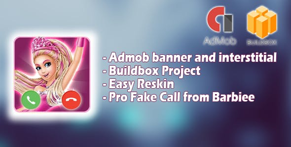 Fake Call from Barbiee - Buildbox project