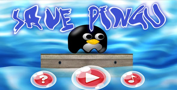 SAVE PINGU (HTML5&ANDROID IOS GAME +CAPX)