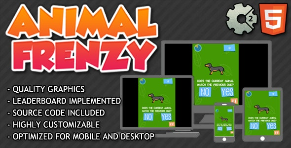 Animal Frenzy - CodeCanyon Item for Sale
