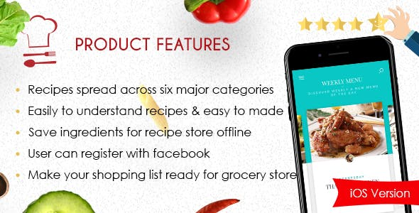 Foodie – Best Recipes iOS App