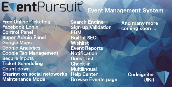 Event Pursuit - v1.4.1