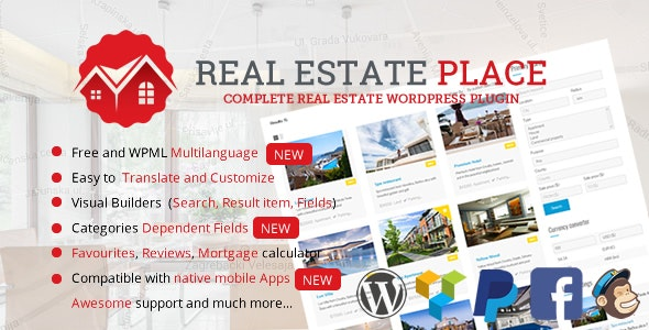 Real Estate Portal for WordPress by sanljiljan | CodeCanyon