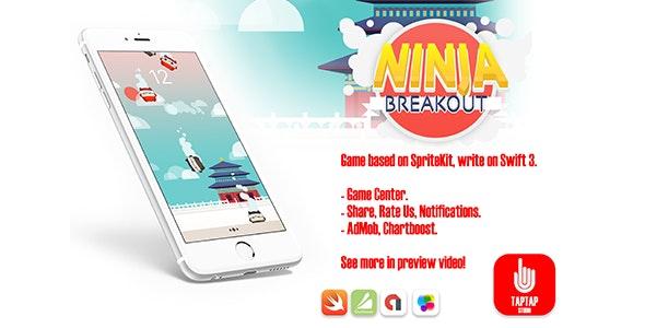 Ninja Breakout - CodeCanyon Item for Sale
