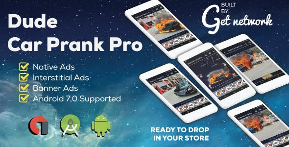 Dude Car Prank Pro + Admob