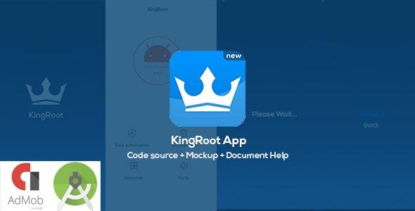 KingRoot Prank app - Source Code + 3 PSD Mockup for Screenshots - CodeCanyon Item for Sale