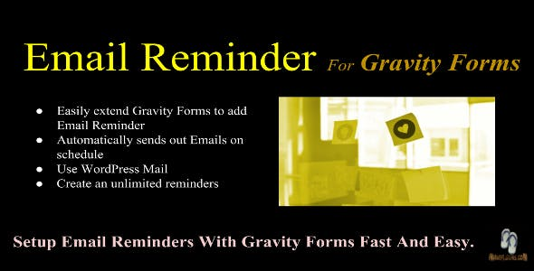 Email Reminder For Gravity Forms