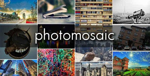 PhotoMosaic - CodeCanyon Item for Sale