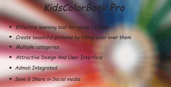 KidsColorBook Pro - CodeCanyon Item for Sale