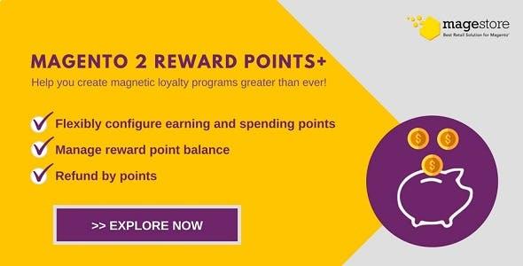 Magento 2 Reward Points Plus Extension