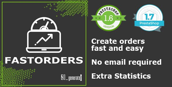 Create Orders Fast with out email